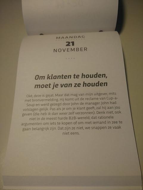 Om Klanten Te Houden, Moet Je Van Ze Houden