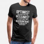 optimist-pessimist-accountant-glass-grappig-t-shirt-mannen-premium-t-shirt